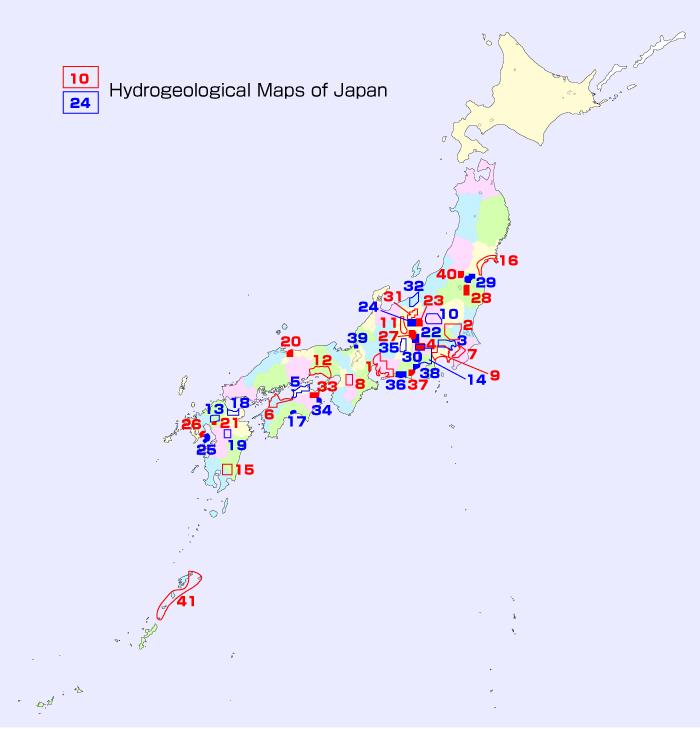 Catalogue Of Geological MapsGeological Survey Of Japan AIST - Japan map 9