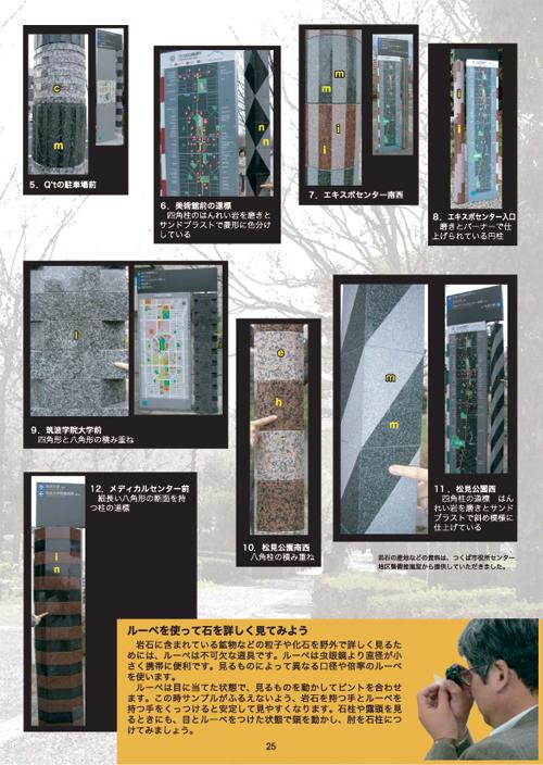 ,25 つくばの街の岩石・化石めぐり: 酒井彰 (地質標本館)・中澤努(... no. 456