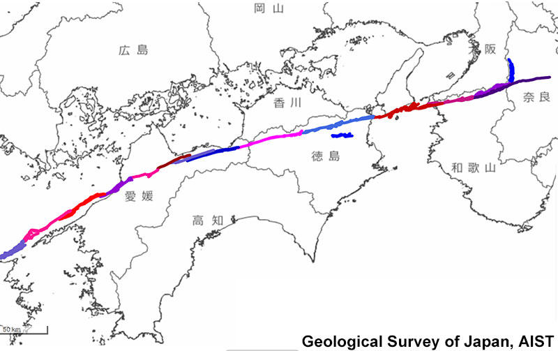 中央 構造 線 中央構造線の旅(4)-徳島県・愛媛県・高知県